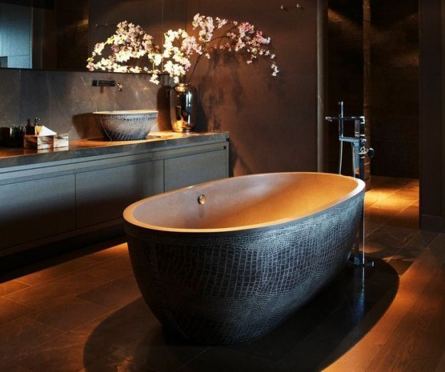 My home tour: bagno ospiti - image bagno-di-lusso on http://www.designedoo.it