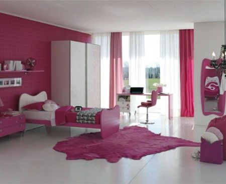 Camerette Doimo: linea Cityline Barbie Gloss