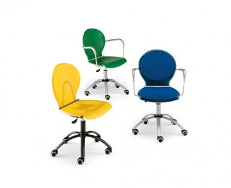 Calligaris sedie sedute da ufficio colorate project for Sedia scrivania design