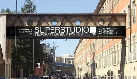 Temporary Museum for New Design presso SuperStudio Più di via Tortona