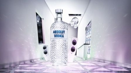 vodka absolut natale 2010