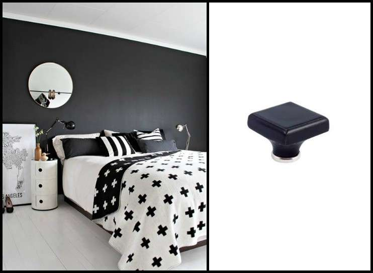 Camera da letto nera foto design mag for Idee x arredare camera da letto