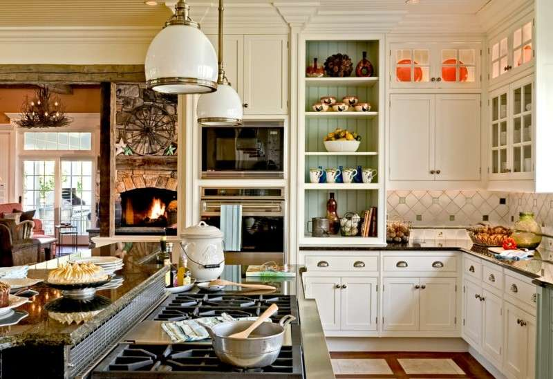 Country Kitchen Remodels.Tag For Kitchen Color Ideas With Off ...