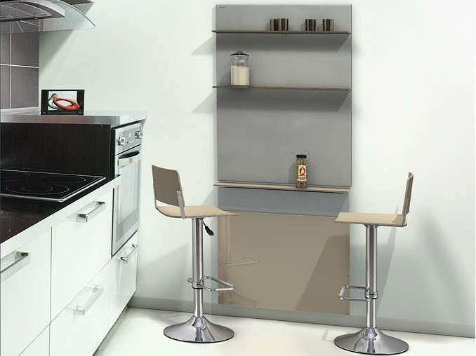 Tavoli a scomparsa foto 25 40 design mag for Table de cuisine pliante murale