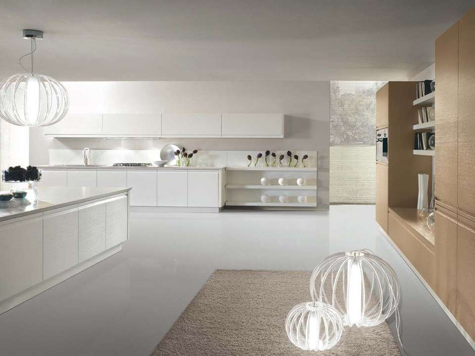 Cucine bianche foto 3 40 design mag for Cucine country bianche