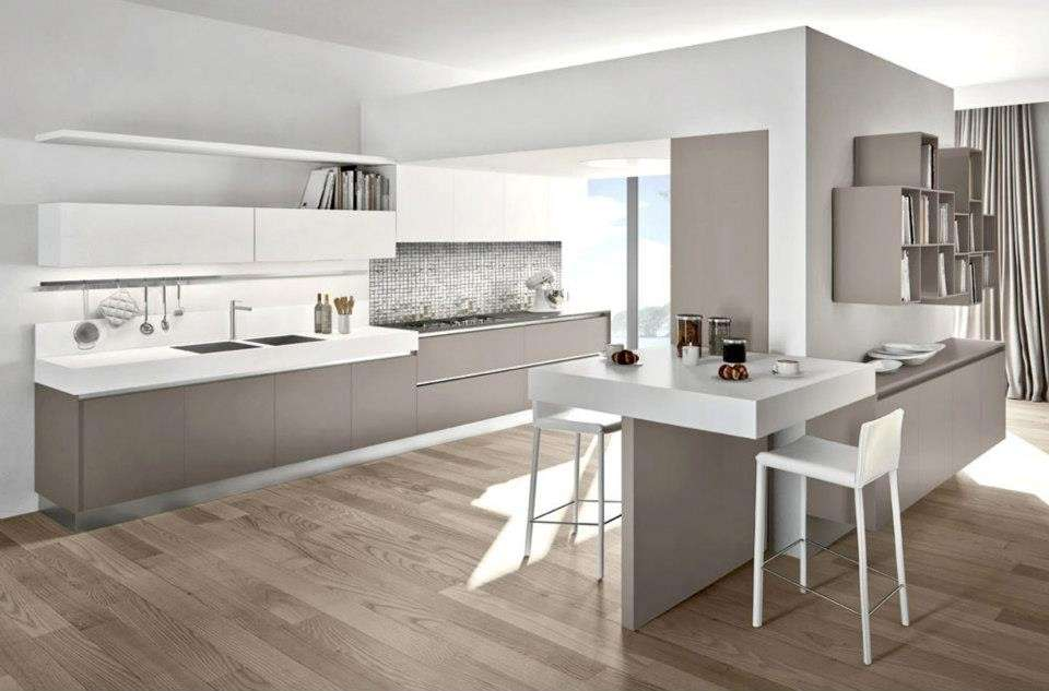 Abbinare il pavimento al rivestimento della cucina (Foto)  Design Mag
