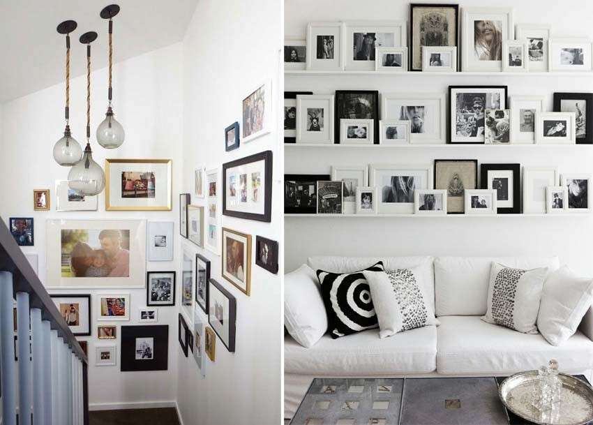decorare le pareti con foto design mag