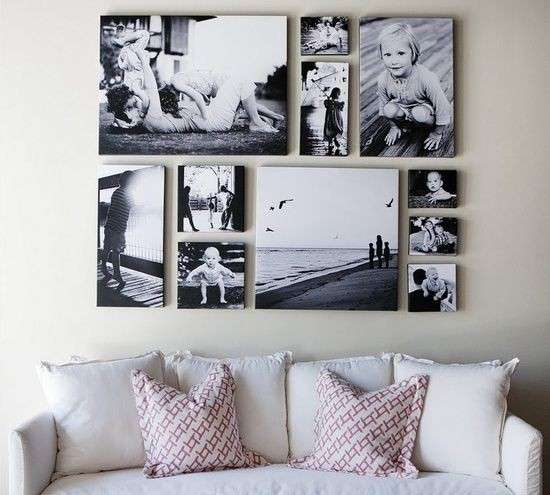 Decorare le pareti con foto foto 12 40 design mag - Decorare le pareti ...