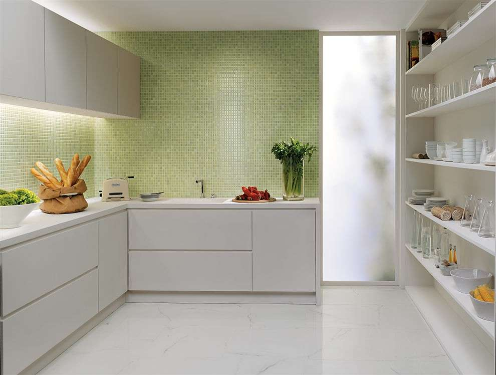 Gallery of piastrelle cucina moderna colorate piastrelle for Piastrelle x cucine moderne
