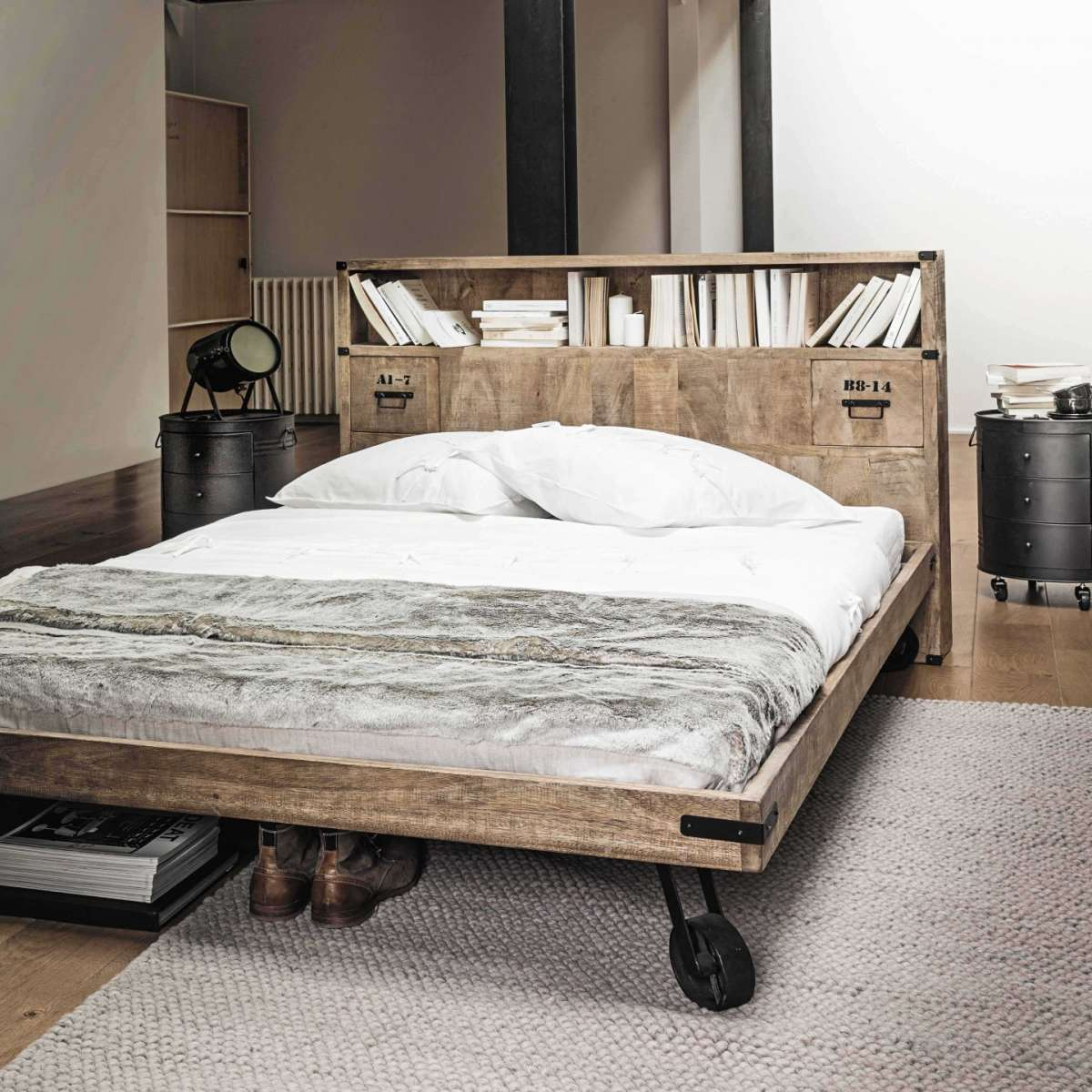Testiere letto originali foto 15 40 design mag for Maison du monde willy