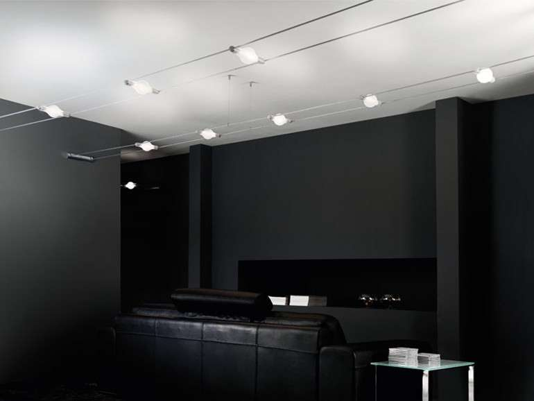 Faretti da soffitto foto 6 41 design mag for Illuminazione a binario a led