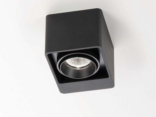 Faretto a soffitto nero Delta Light