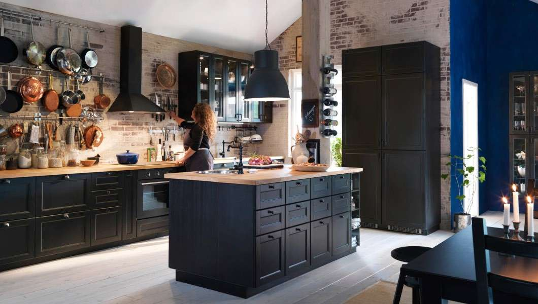 cucina ikea laxarby