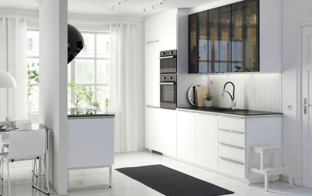 Beautiful Cucina Bianca Ikea Ideas - bakeroffroad.us - bakeroffroad.us
