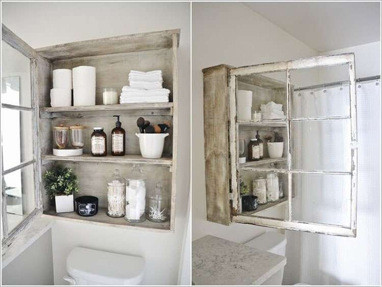 mobile bagno shabby chic