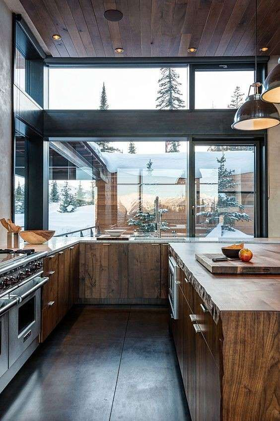 Best Cucine Con Vetrate Gallery - Ideas & Design 2017 ...
