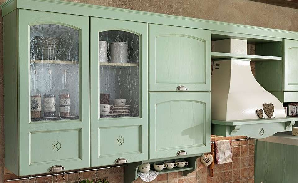 Fabulous Latest Cucine Colore Verde Salvia Mondo Convenienza Cucine Foto  Design Mag With Colore Cucine With Verde Salvia Colore.