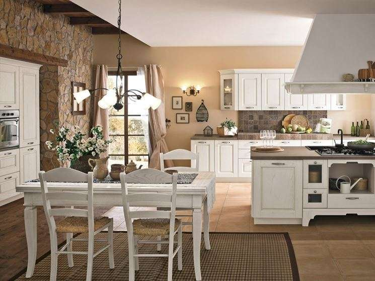 Stunning Cucina Country Bianca Gallery - Ideas & Design 2017 ...