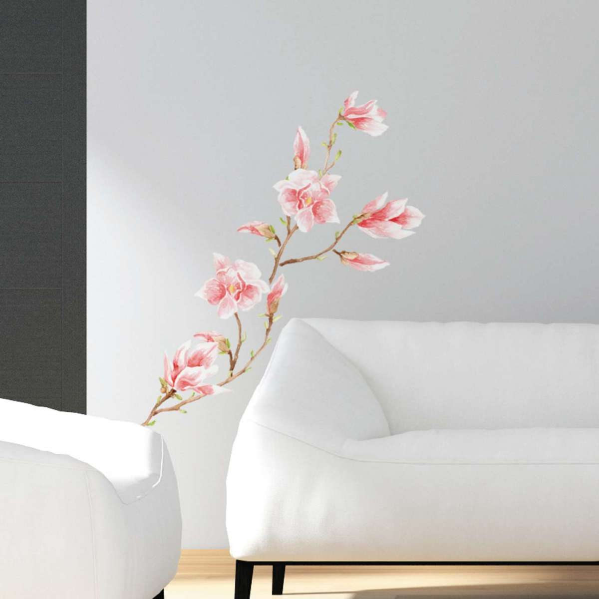 Cheap trendy elegant stickers per pareti magnolia leroy - Sticker mural leroy merlin ...