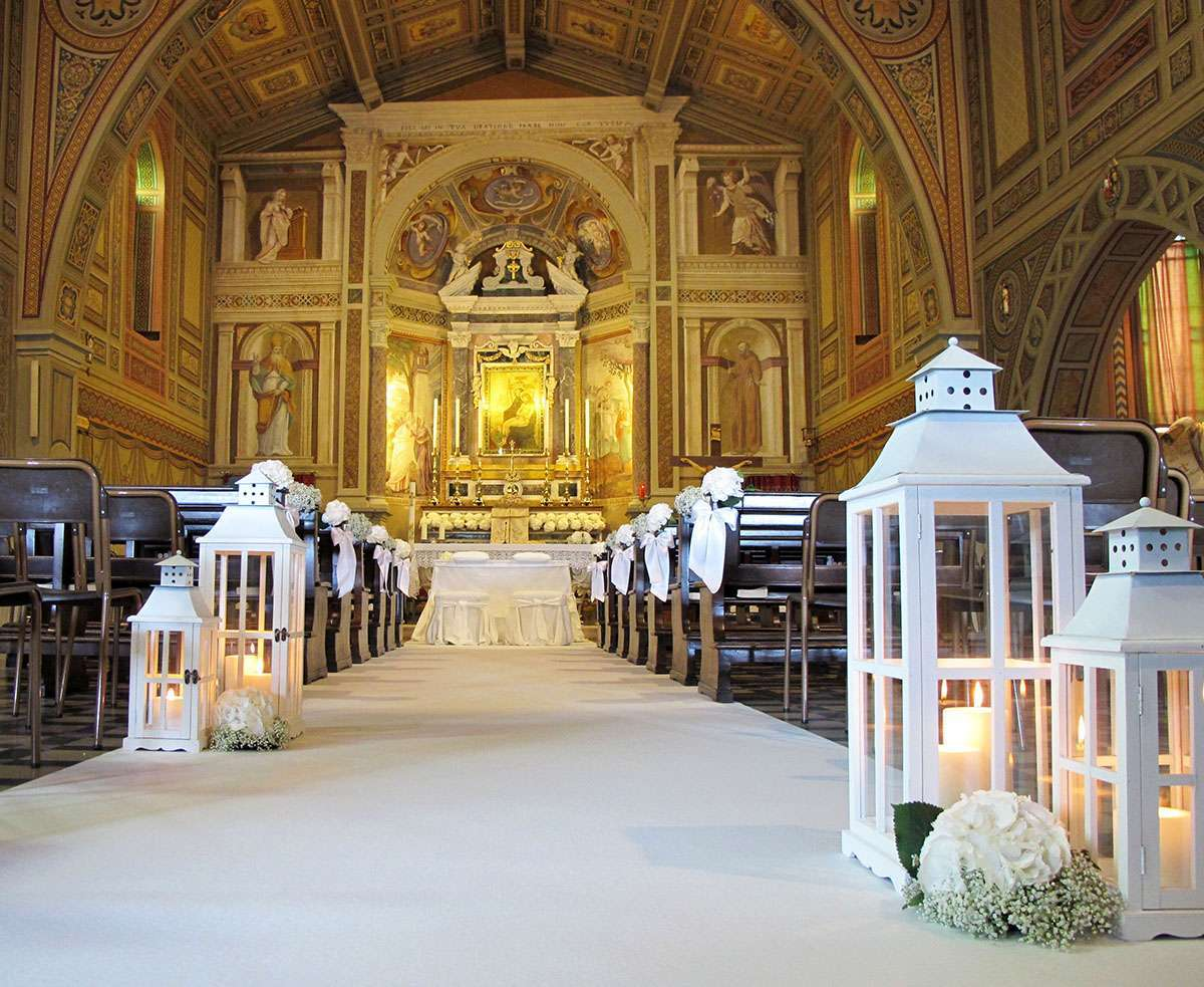 Preferenza Decorazioni matrimonio in chiesa (Foto) | Design Mag TW93