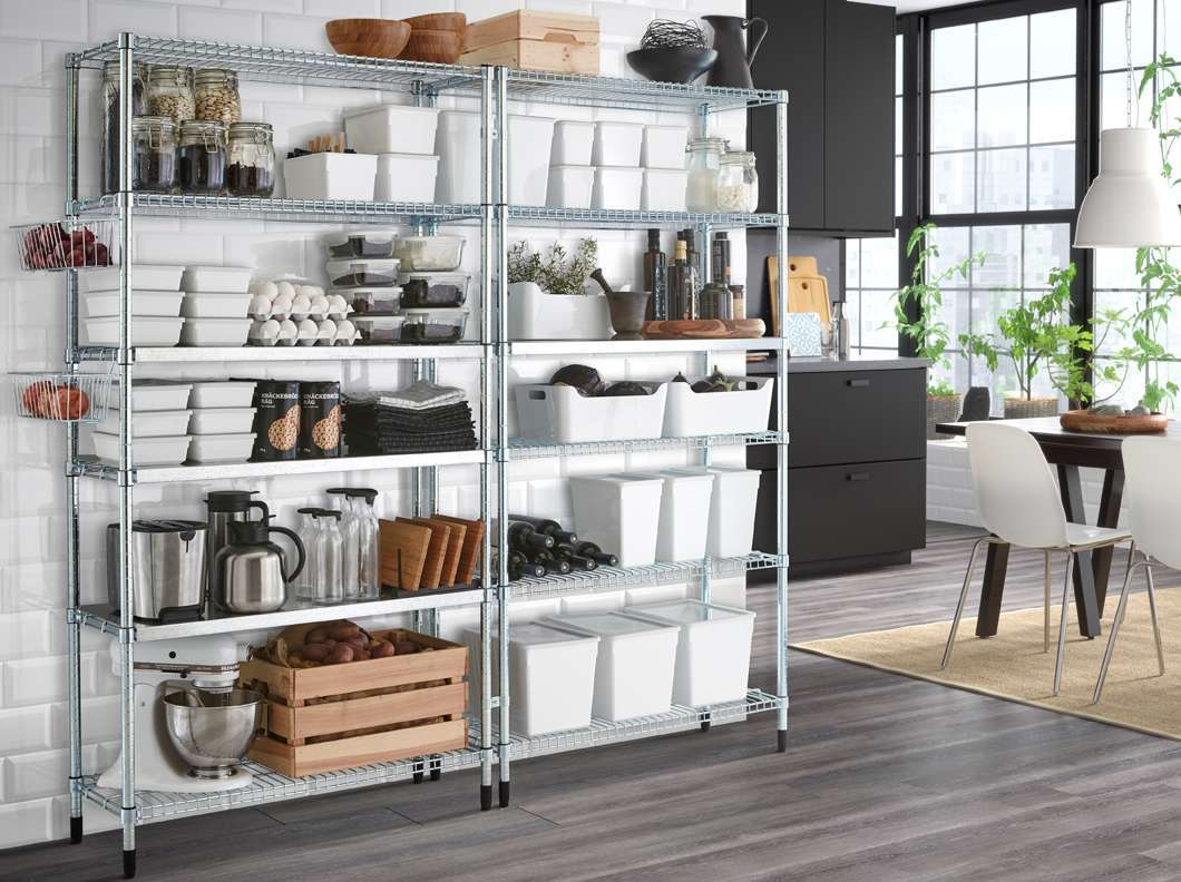 Emejing scaffale per cucina gallery home interior ideas for Scaffali per ufficio ikea