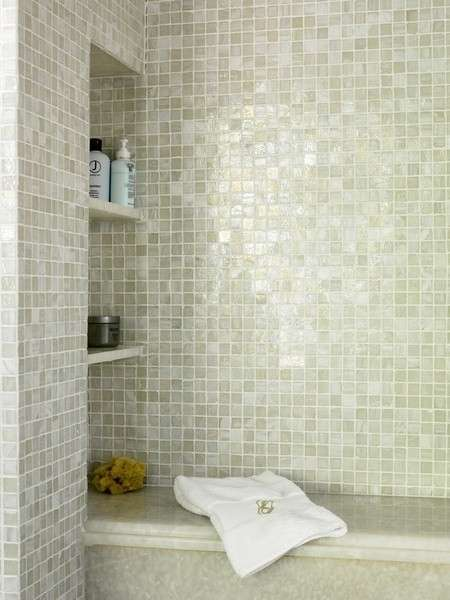Piastrelle mosaico in bagno foto 20 40 design mag for Idee di pavimento di mudroom