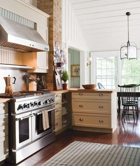 Cucine stile country foto 35 40 design mag - Cucina country moderna ...