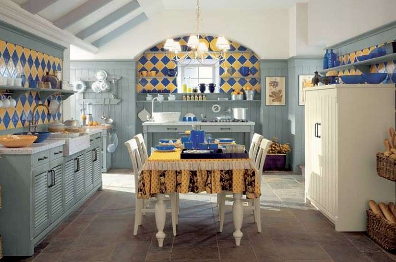 Cucine Country Milano. Cheap Cucina Classica Country With Cucine ...