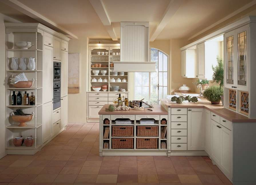 cucine stile country (foto 17/40) | design mag - Cucine Country Bianche
