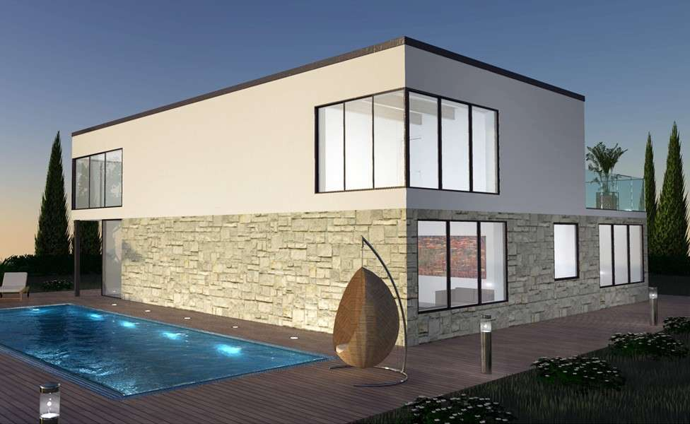 Villa di design emilia romagna for Ville moderne design interni