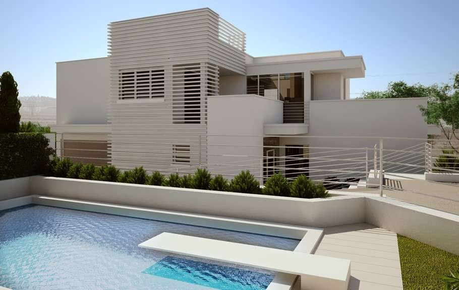 Villa moderna design joy studio design gallery best design - Foto gevel moderne villa ...