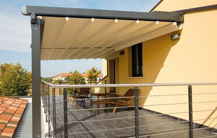 Gazebo in legno foto design mag for Tenda per pergolato