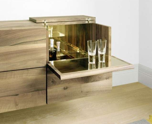 Angolo bar in casa foto 5 22 design mag - Mobile bar da casa ...