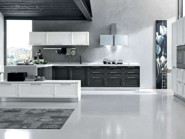 Stunning Cucine Moderne Bianche E Rosse Contemporary - Design ...