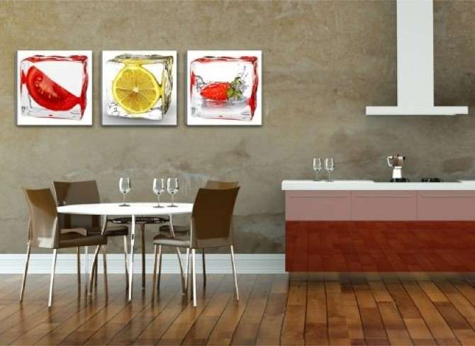 Quadri in cucina foto design mag for Quadri ikea