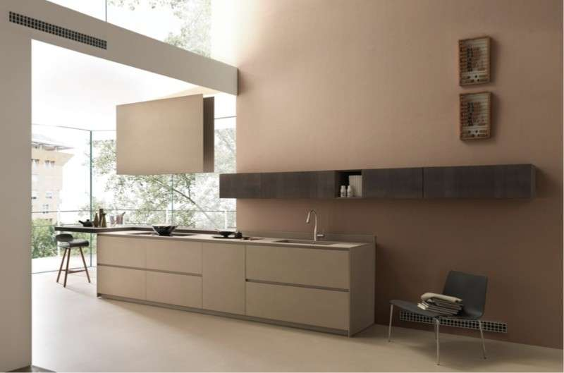 Eccezionale Best Cucine Moderne Color Tortora Photos - Ideas & Design 2017  DH33
