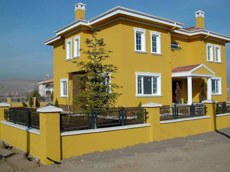 Mobili e arredamento colori per pareti esterne casa Indian house color combinations