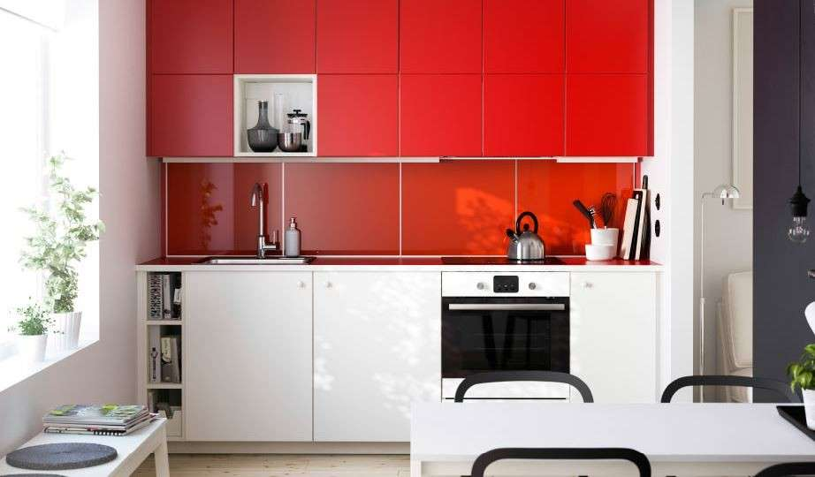 Cucine Bianche E Rosse. Cucine Bianche E Rosse Lusso Awesome Cucina ...