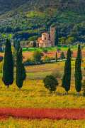 Val d'Orcia in autunno