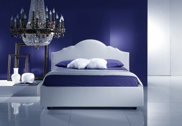 Camera Da Letto Luxury : Camera da letto blu e bianca (Foto) Design ...