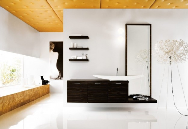 My home tour: bagno ospiti - image pannelli-gialli-decorativi on http://www.designedoo.it