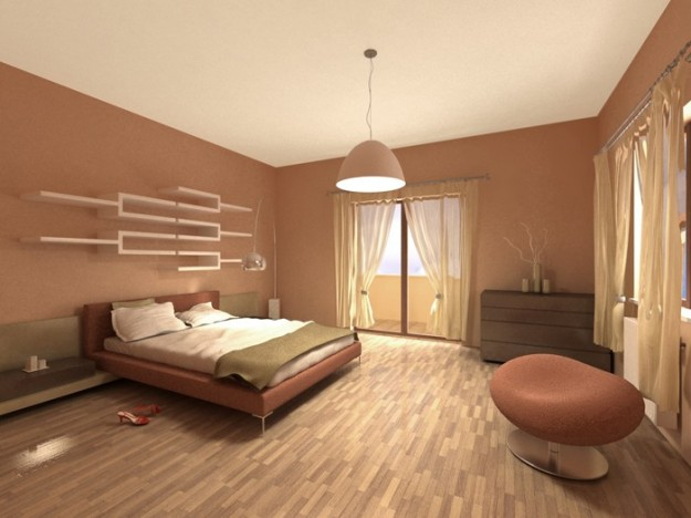 Camera Da Letto Marrone - Design Per La Casa Moderna - Lonslight.com
