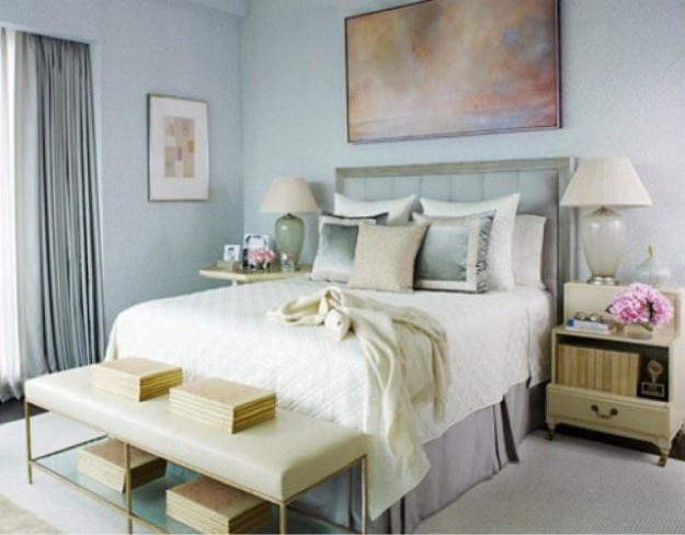 Colori per camera da letto piccola foto design mag Beautiful master bedroom paint colors