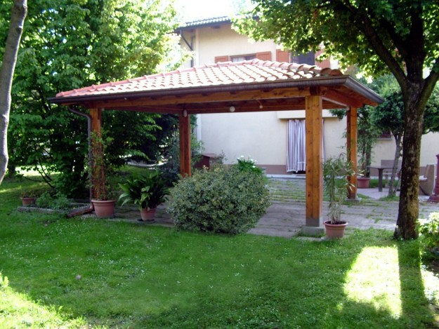 Gazebo da giardino for Kit di case di garage