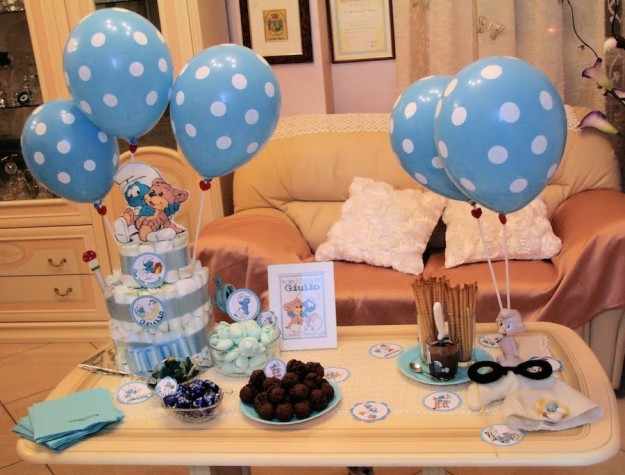 Decorare la casa per un baby shower foto 23 40 design mag - Idee baby shower ...