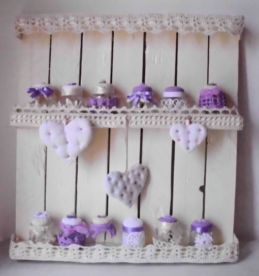 Mensola shabby chic for Oggettistica shabby online