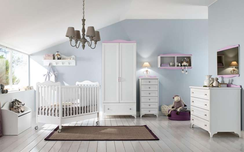 come arredare la camera di un neonato le idee pi belle design mag. Black Bedroom Furniture Sets. Home Design Ideas