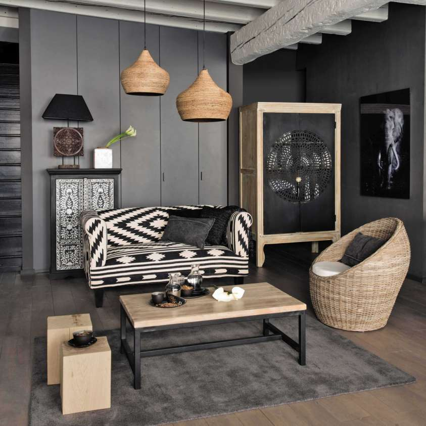 tendenze arredamento 2016 gli stili dedicati al soggiorno design mag. Black Bedroom Furniture Sets. Home Design Ideas