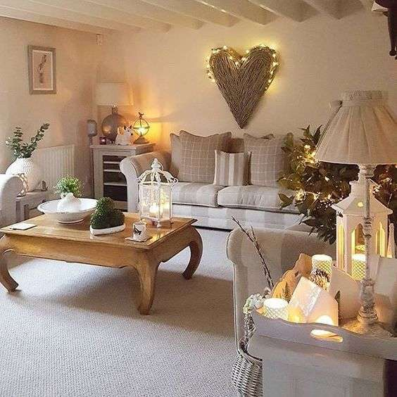 Pinterest Small Living Room Ideas Cheap Home Decor: Come Arredare Un Soggiorno In Stile Shabby Chic: Le