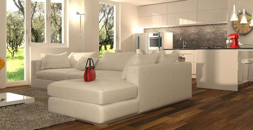 Casa immobiliare accessori come arredare soggiorno con for Arredare open space